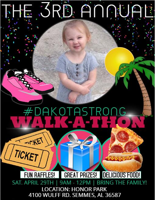 New HD Walk-A-Thon Flyer